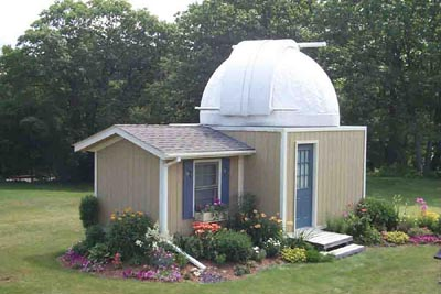 Home Built Astronomy Observatory - Pics about space