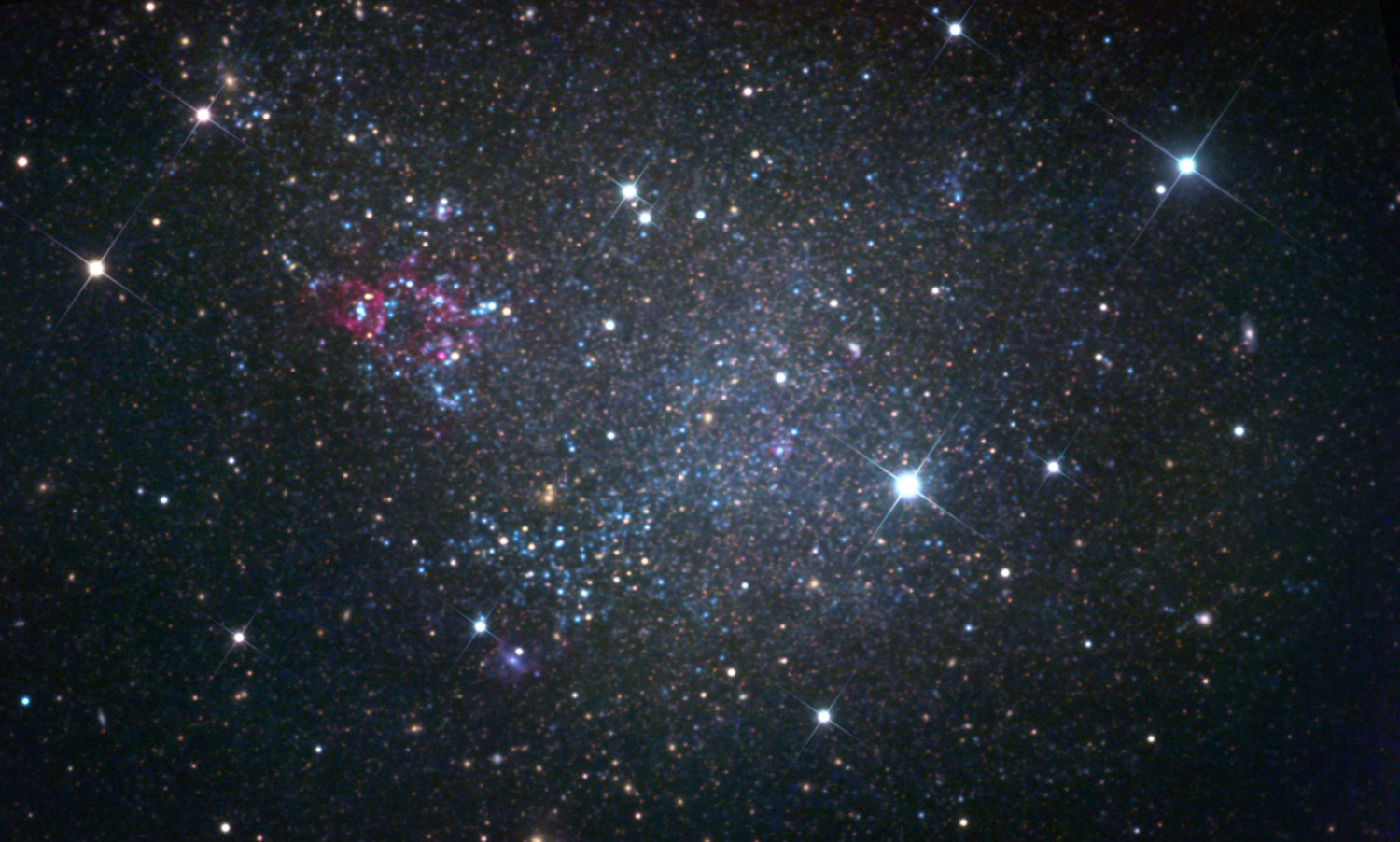 sagittarius dwarf galaxy nasa - photo #1